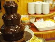 第一滝本館 お子さんも大喜び!ママにも大好評のチョコレートフォンデュ