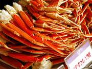 第一滝本館 蟹も食べ放題