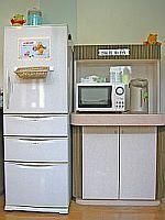 ペンション ローレル 24時間利用可能の冷蔵庫、電子レンジ、ポット
