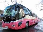 ホテル鹿の湯 花もみじ 綺麗な送迎バス