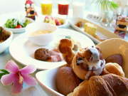 ロワジールホテル那覇 朝食のブッフェ