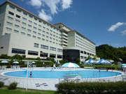 宮津ロイヤルホテル 夏に利用できる屋外プール