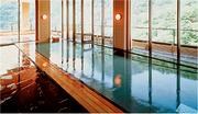 ホテル鹿の湯 花もみじ 紅葉などの景色を楽しめる大浴場
