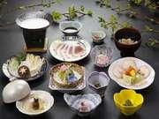 伊香保温泉 和心の宿オーモリ 地元の旬な食材を使った食事