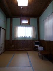 ログペンションひなたぼっこ 掃除が行き届いている和室