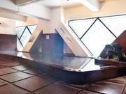 定山渓ビューホテル 小さいお子さんでも安心して入れる浅瀬のお風呂