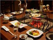 丸駒温泉旅館 囲炉裏会席の夏場のイメージ写真
