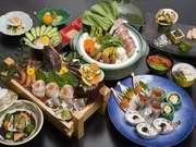 季粋の宿 紋屋 お料理の一例