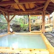 陽日の郷あづま館 露天風呂
