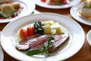 ファミリーリゾート プロヴァンス 夕食の一例