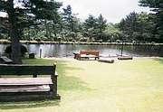 ログペンション映山湖 ダイニングからの景色