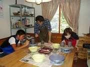 雄峰ペンション 陶芸教室